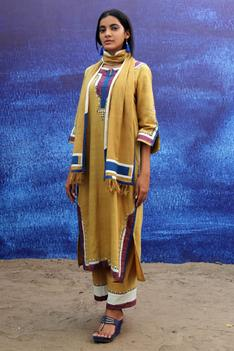 Handwoven Cotton Kurta Set