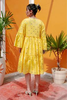 Frou Frou Dress with Cape