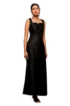 Mulberry Silk Gown