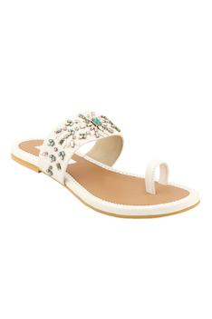Crystal Embellished Sandals
