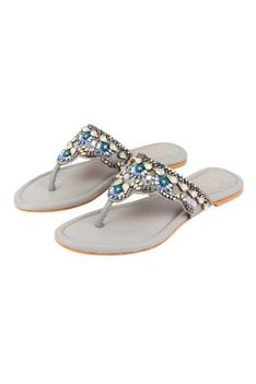 Julian Crystal Embellished Sandals