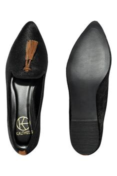 Gina Pointed Toe Tassel Loafers