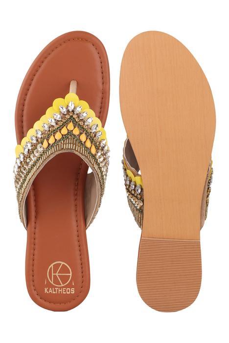Gigi Sequin Embellished Sandals