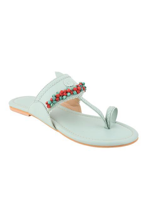 Ghunghroo Embellished Kolhapuri Sandals
