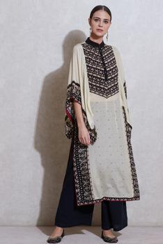 Printed Kurta with Inner