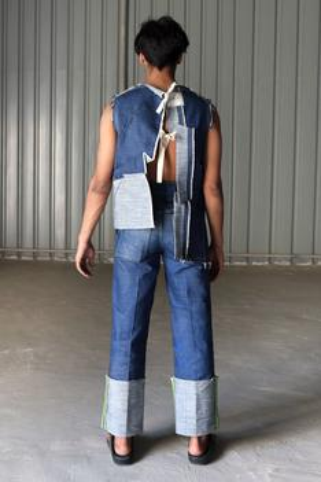 Canvas Denim Jeans