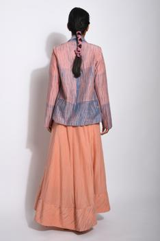 Handwoven Cotton Silk Shibori Jacket