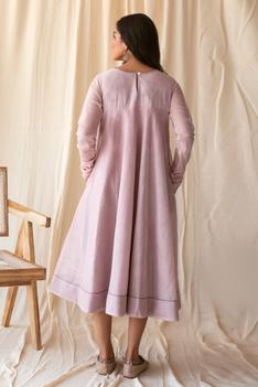 Chanderi Silk Dress