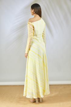 Hand Painted Maxi Dress