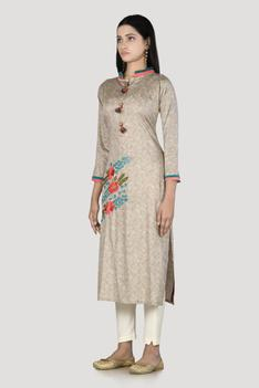 Printed Kurta & Pant Set