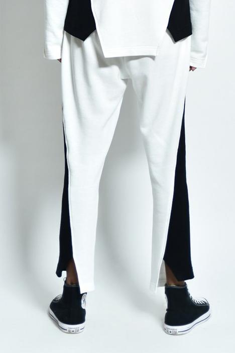 Cotton Colorblock Pant