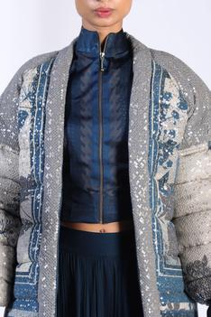 Printed & Embroidered Jacket