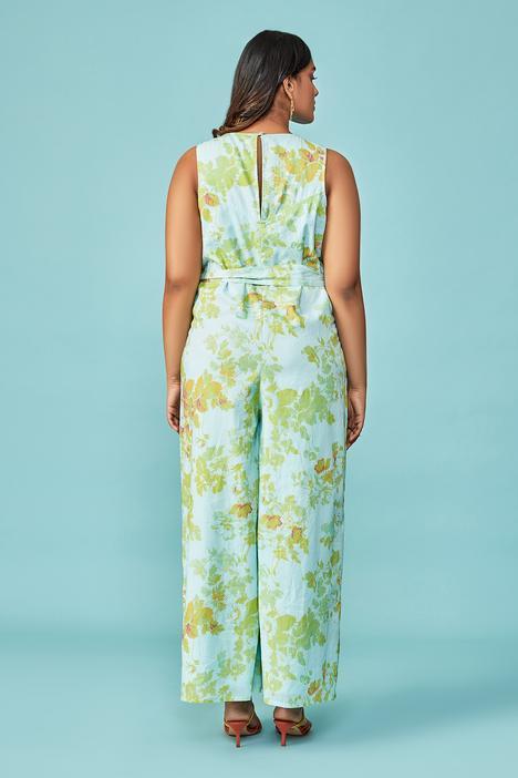 Andy Floral Print Jumpsuit