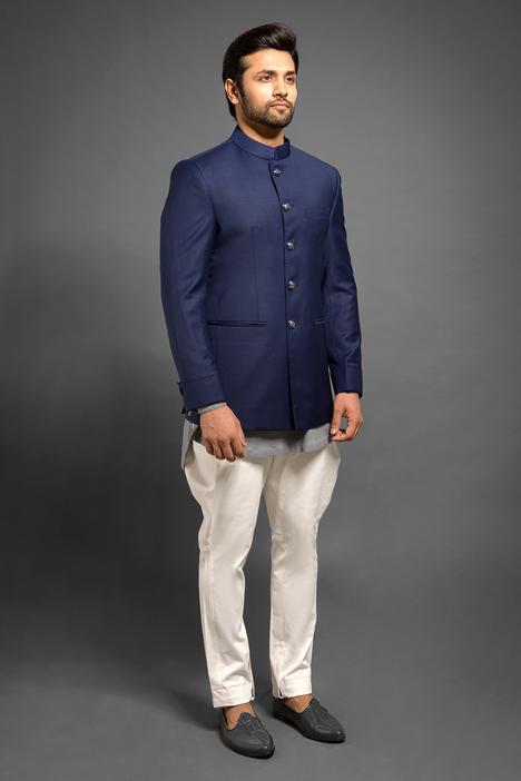 Button Down Bandhgala