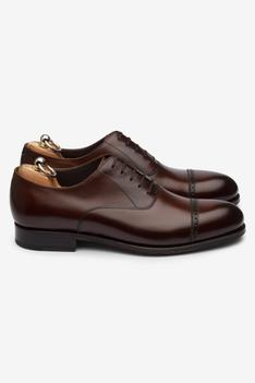 Leather Cap Toe Oxfords