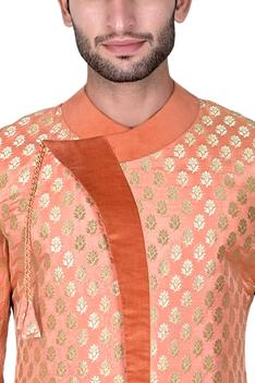 Silk Brocade Bandhgala Set