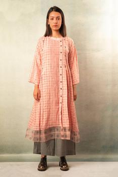 Handwoven Printed Cotton Tunic