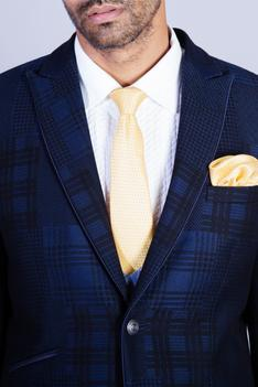 Checkered Suit & Pant Set