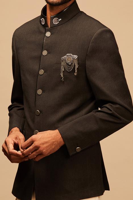 Hand Embroidered Bandhgala