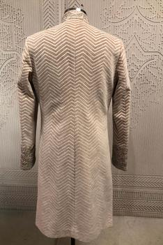 Embroidered Velvet Sherwani