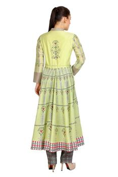 Chanderi Anarkali & Pant Set