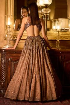 Flared Cutout Gown