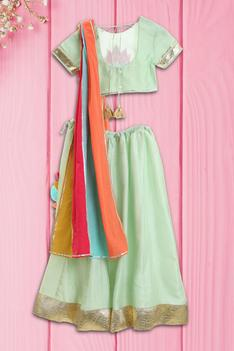 Organic Cotton Lehenga Set
