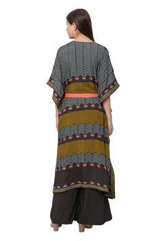 Printed Tunic with Belt