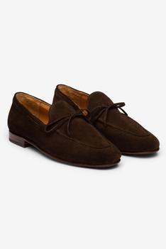 Tassel Suede Loafers