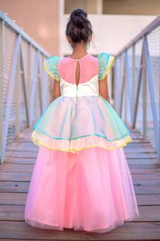 Layered Organza Ball Gown