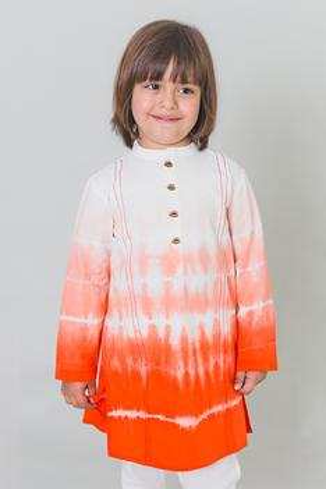 Shibori Dyed Kurta
