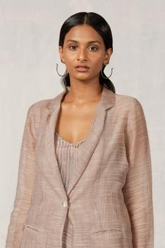 Chanderi Silk Blazer