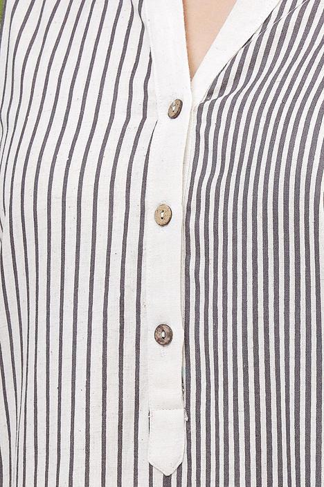 Striped Kurta Set