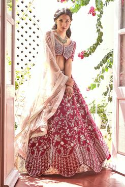 Layered Lehenga Set