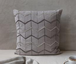 The 7 DeKor Embroidered Cushion Cover with Filler