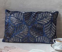 The 7 DeKor Embroidered Cushion Cover (Single Pc)