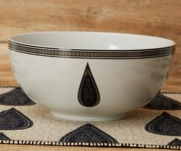 Porcelain Serving Bowl (Single Pc)