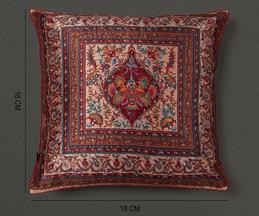 Mysore Silk Square Cushion Cover with Filler (Set of 2)