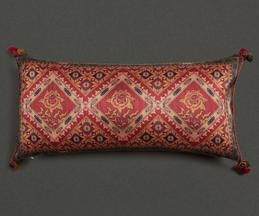 Mysore Silk Rectangle Cushion Cover with Filler