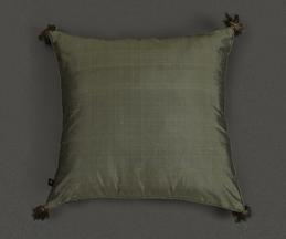 Silk Quilted Cushion Cover with Filler
