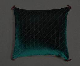 Velvet Cushion Cover with Filler