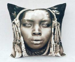 Handmade Printed Cushion Cover (Single Pc)