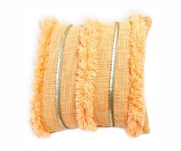 Handmade Fringe Cushion Cover