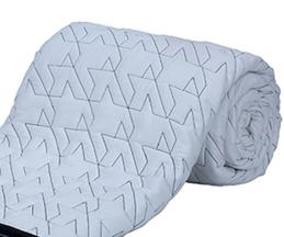 Embroidered Quilt (Single Pc)