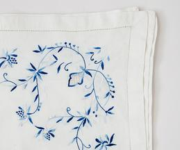 Embroidered Table Cover & Napkin Set