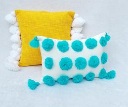 Handmade Tassel Cushion Cover