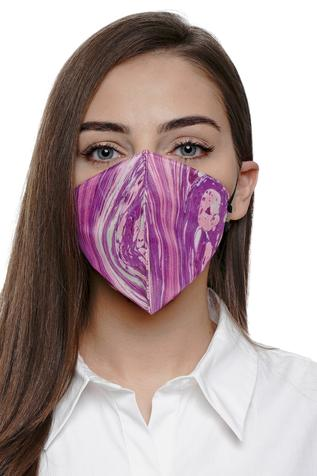 Marble Print Mask (Single Pc)