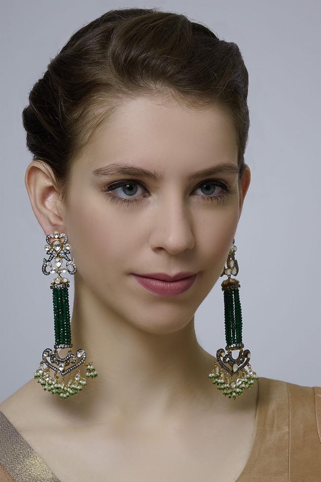 Kripaa Pranay Bead earrings