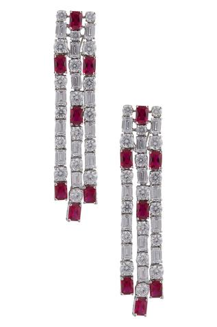 Crystal Long Earrings