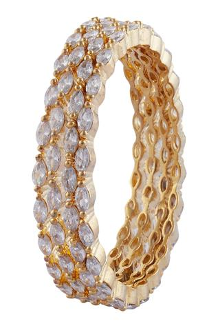 Crystal Bangles (Set of 4)